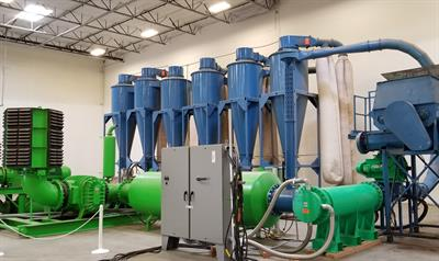 Dryclone? Air Drying System: A new solution for biosolids (sewage sludge)