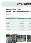 Avermann - Pallet Transportion System Datasheet