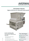 Stationary Presses Brochure
