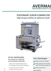 Stationary Screw Compactors Brochure