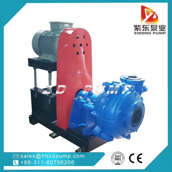 ZIDONG® pump AHR Rubber lined Slurry Pump in coal washing industry-0