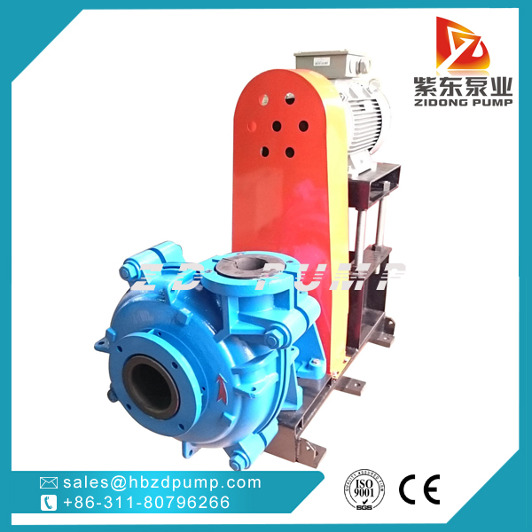 ZIDONG® pump AHR Rubber lined Slurry Pump in coal washing industry-2