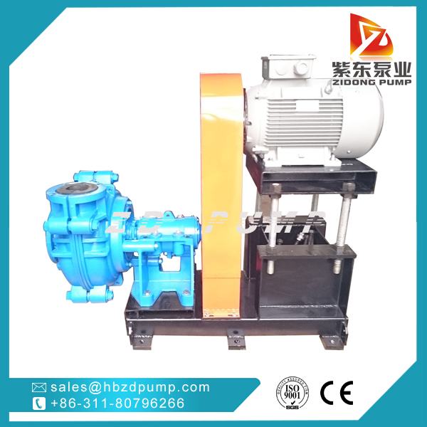ZIDONG® pump AHR Rubber lined Slurry Pump in coal washing industry-1