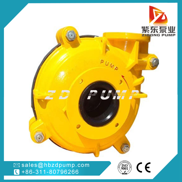 ZIDONG® pump AHR Rubber lined Slurry Pump in coal washing industry-4