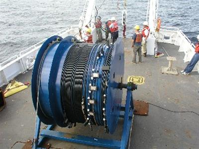 Model CTD - Towed Chain for Two-Dimensional Measurements in Ocean
