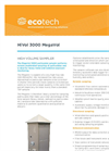 MegaVol 3000 Dust Sampler Brochure