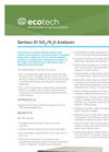 Serinus 51 H2S/SO2 Analyser Brochure