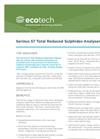 Serinus 57 TRS Analyser Brochure