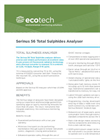 Ecotech - Model Serinus 56 - Total Sulphides Analyser - Brochure