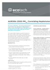 Ecotech - Model Aurora 2000 - PM Correlating Nephelometer - Brochure