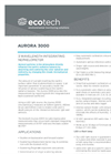 Ecotech - Model Aurora 3000 - Three Wavelength Integrating Nephelometer - Brochure