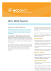 Ecotech - Model MegaVol-3000 - Dust Sampler - Brochure