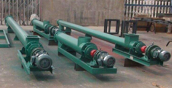 Interaction Between Feed Processing Machinery And Screw Conveyor-1