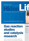Hiden Life | Mass Spectrometers for Gas Reaction Studies & Catalysis Research 1120/01
