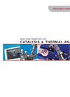 Mass Spectrometers for Catalysis and Thermal Analysis- Brochure
