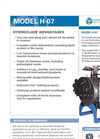 Model H-07 - Hydroclave System Spec Sheet