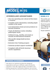 Model H-15 - Hydroclave System Spec Sheet