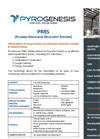 Model PRRS - Plasma Resource Recovery System - Brochure