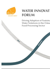 Driving Adoption of Sustainable Water Solutions in the Ontario Food Processing Sector (Action Plan)