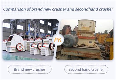 Advantages and Disadvantages of Second-hand Jaw Crusher