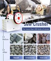 HXJQ  Jaw crusher - Model PE-600×900 - What Is It?