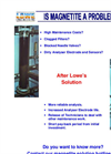 Lowe Engineering - Magnetite Filter - Brochure