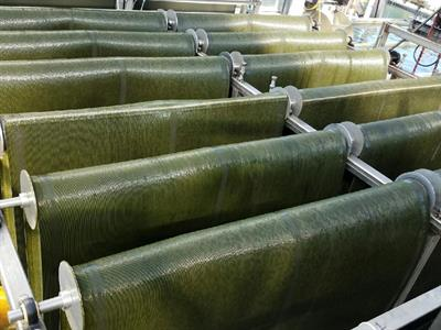 Gross-Wen - Revolving Algal Biofilm (RAB) Wastewater Treatment Process System