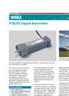BAROCAP - Model PTB210 - Digital Barometer Brochure