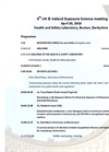 4th UK and Ireland Exposure Science Conference Programme- Brochure
