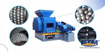 Fote Machine - Model Briquette Machine - Small occupied Area Briquetting Machine