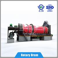 Paper Sludge Rotary Drum Dryer - Model GlobalZJN - J093