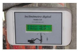 Vibraquipo - Slope Meters for Drilling Machines