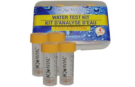 AquaVial - E. Coli and Coliform Water Test Kits