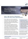INFICON - Model RQCM - Quartz Crystal Microbalance Research System - Brochure