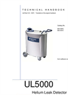 INFICON - Model UL5000 - Dry Helium Leak Detector - Manual