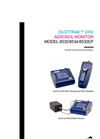 DustTrak DRX Aerosol Monitor 8533EP Manual
