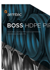 BOSS - Model 2000 - Corrugated HDPE Drainage Pipe Brochure