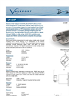 Model UV-SVP - Sound Velocity Sensors & Profilers Brochure