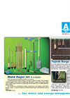 Hand Auger Set Brochure