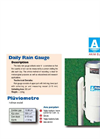 Daily Rain Gauge Brochure