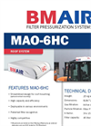 BMAir - Model MAO-6HC - Filter Pressurization Systems Brochure
