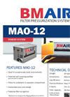 BMAir - Model MAO-12 - Filter Pressurization Systems Brochure