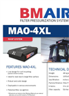 BMAir - Model MAO-4XL - Filter Pressurization Systems Brochure