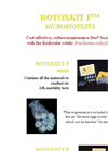 Model F - Rotoxkit F Microbiotests Kit Brochure