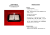 Light Table for Daphnia Tests Brochure