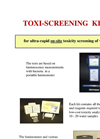 Toxi-Screening Kit Brochure