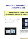 Bacterial Contamination Screening Kit Brochure