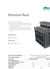 Filtration Rack - Data Sheet