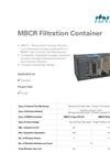 ItN Nanovation - Model MBCR - Filtration Container - Data Sheet