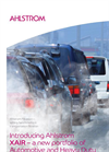 Ahlstrom - XAIR - Automotive and Heavy Duty Air Filter Media Brochure